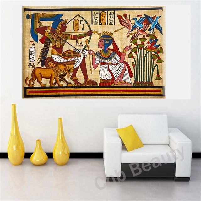 Featured Photo of Egyptian Canvas Wall Art