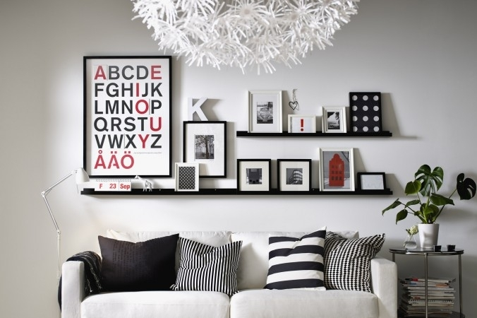 Photo Frame Wall Art Ideas Katecaudillo Intended For Wall Art With Inside Frames Wall Accents (View 4 of 15)