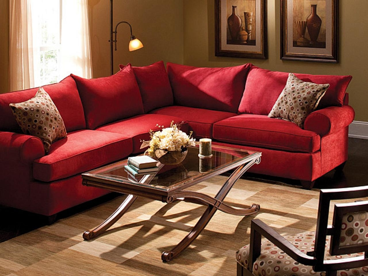 red living room chairs 10 inspirations sectional sofas at raymour and flanigan 12154