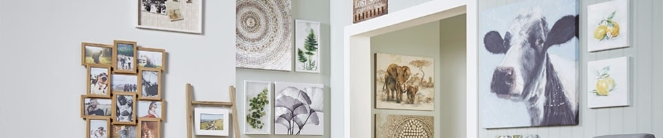 Picture Frames & Wall Art | The Range Inside Matalan Canvas Wall Art (Image 14 of 15)