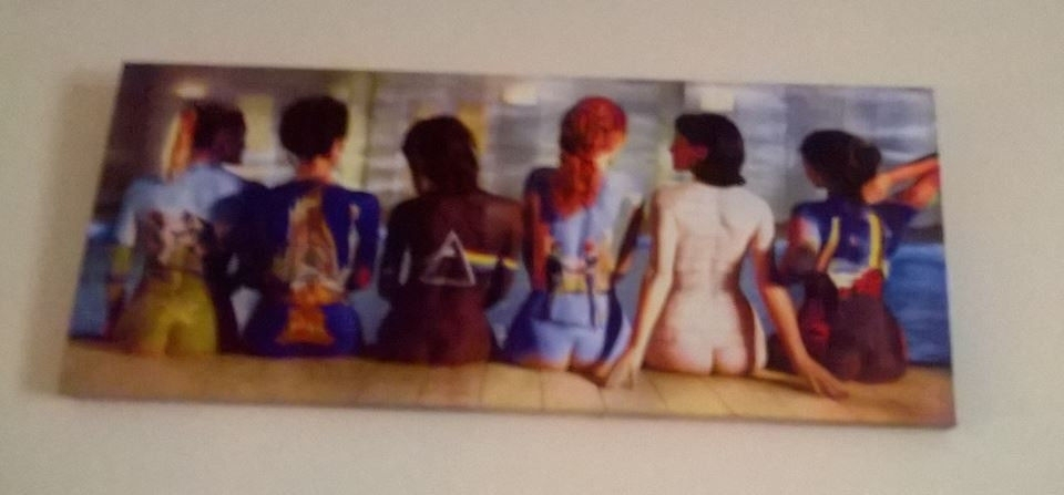 Pink Floyd Album Cover Art Themed Canvas Wall Art, 24'' X 10'' Vgc With Gumtree Canvas Wall Art (Image 12 of 15)