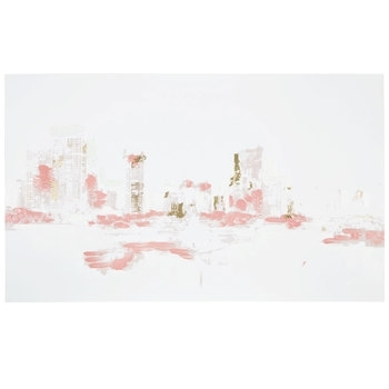 Pink, White & Gold Abstract Canvas Wall Decor | Hobby Lobby | 5812953 Regarding Hobby Lobby Abstract Wall Art (Image 12 of 15)