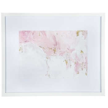 Pink, White & Gold Abstract Framed Wall Decor | Hobby Lobby | 1468297 Throughout Hobby Lobby Abstract Wall Art (Image 13 of 15)