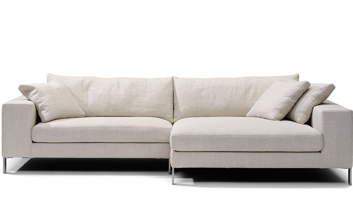 Plaza Small Sectional Sofa – Hivemodern For Small Sectional Sofas (View 4 of 10)