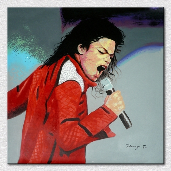 Popular Modern Room Supply Decor Art Canvas Printed Michael For Michael Jackson Canvas Wall Art (Image 14 of 15)
