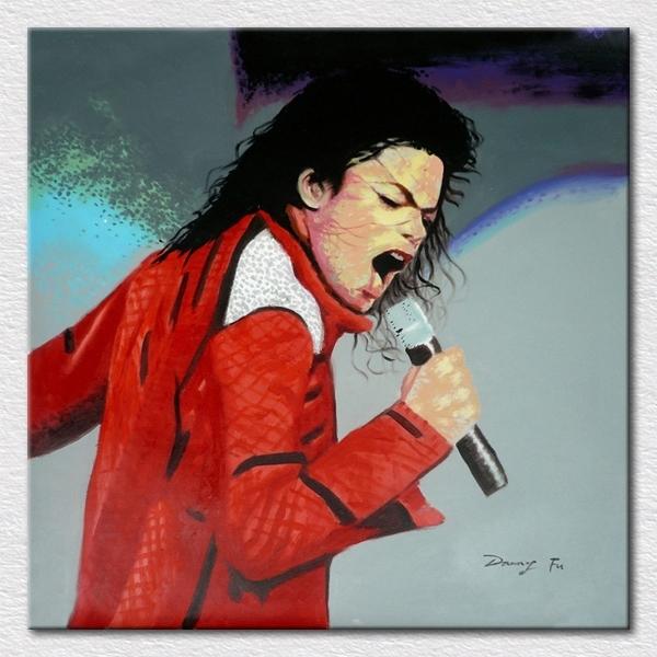 Popular Modern Room Supply Decor Art Canvas Printed Michael For Michael Jackson Canvas Wall Art (Image 14 of 15)