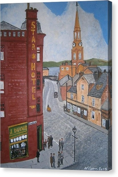 Port Glasgow Canvas Prints | Fine Art America Throughout Glasgow Canvas Wall Art (View 8 of 15)