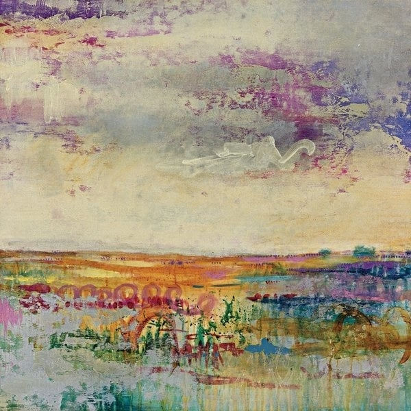 Portfolio Canvas Decor 'wildflower Sunrise I' Large Framed Printed Throughout Joval Canvas Wall Art (View 14 of 15)