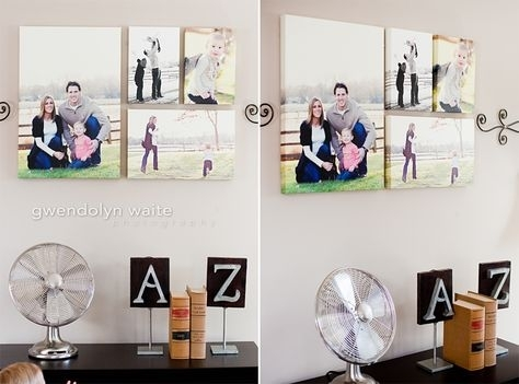 Portrait Canvas Storytelling Art I Love The Mix Of B And Color Regarding Portrait Canvas Wall Art (View 1 of 15)