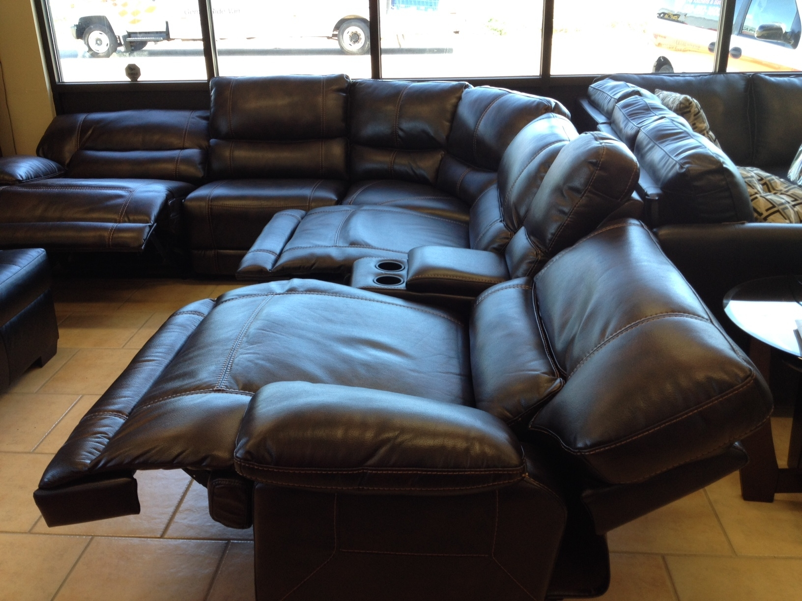 Featured Photo of Sectional Sofas With Power Recliners