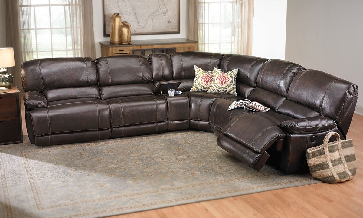 Power Reclining Storage Sectional | The Dump Luxe Furniture Outlet With Sectional Sofas At The Dump (Image 9 of 10)