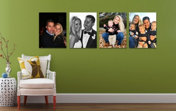 Pregnancy Memories On Canvas | Blog Series – 1 Pertaining To Photography Canvas Wall Art (Image 9 of 15)