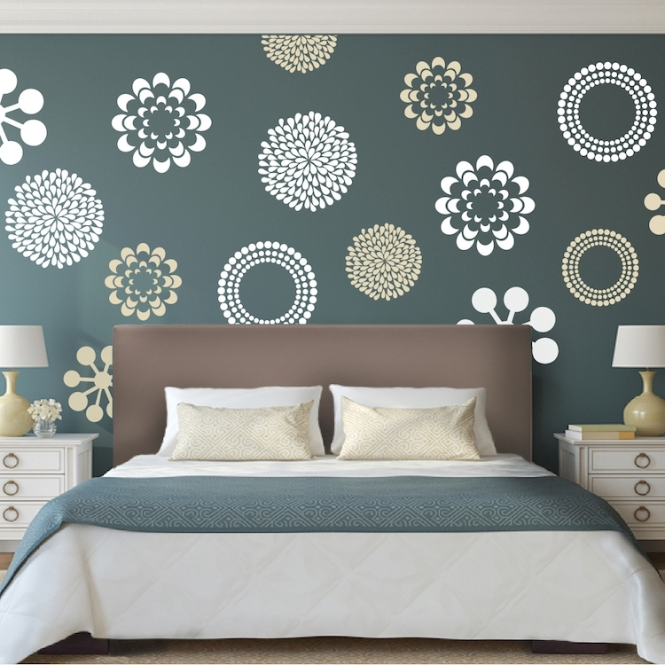 Prettifying Wall Decals – From Trendy Wall Designs Pertaining To Wall Accent Decals (View 7 of 15)