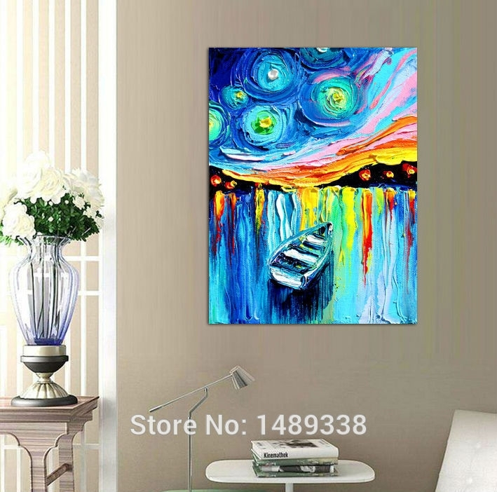 Printed Masters Starry Night Vincent Van Gogh Prints Reputation Inside Masters Canvas Wall Art (Image 11 of 15)