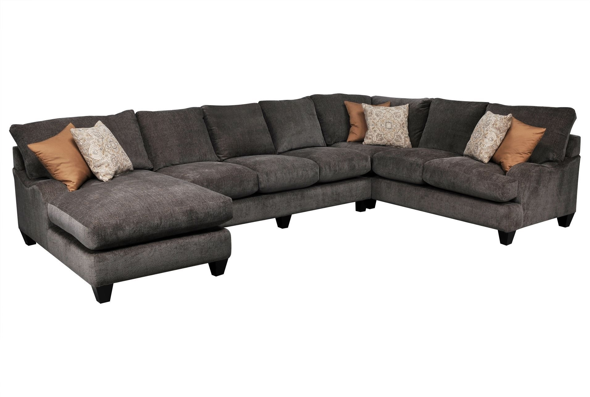 Pryce 3 Piece Sectional W/laf Chaise – Signature (2 Chaise) | A Intended For Homemakers Sectional Sofas (View 4 of 10)