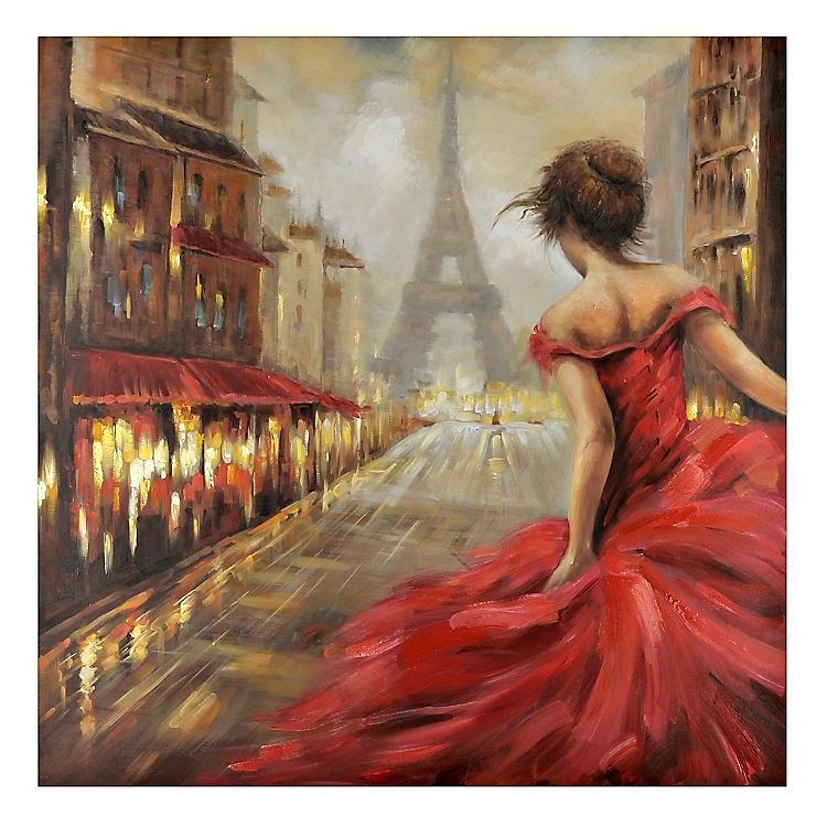 Pursuit Of Romance Canvas Art Print | Kirklands | Home Decor Throughout Kirklands Canvas Wall Art (View 5 of 15)