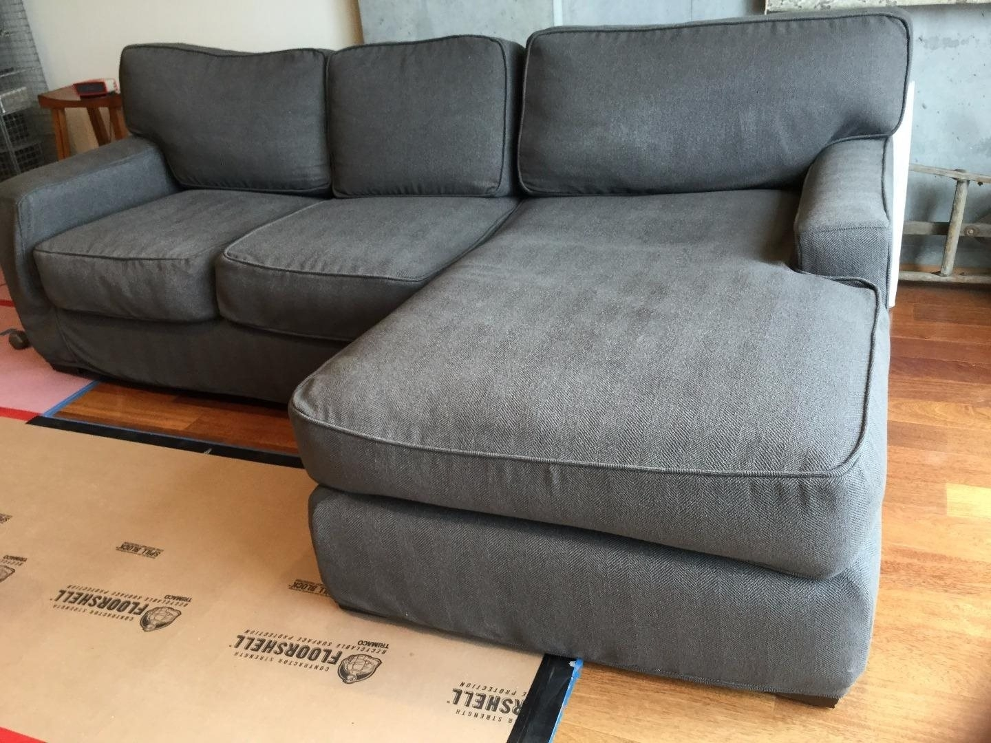 Quatrine Upholstered Sectional Sofa: For Sale In San Francisco, Ca For Quatrine Sectional Sofas (Image 7 of 10)
