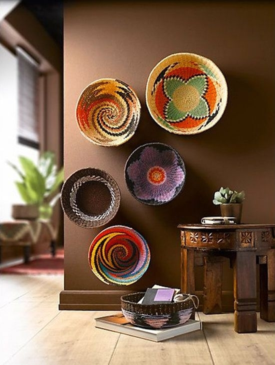 Quirky And Unique Wall Art Ideas | Gallery Wall, Walls And Africans within African Wall Accents