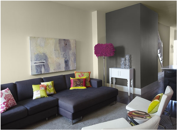 Reader Q: Painting Accent Walls In A Rental – The Borrowed Intended For Wall Accents For Beige Room (Image 13 of 15)