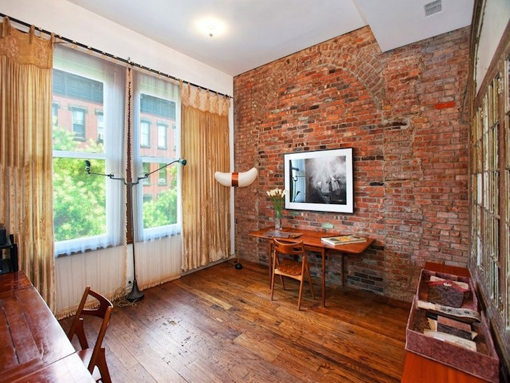 Real Exposed Brick Wall Living Room Brick Wall Home Designs 14305 With Exposed Brick Wall Accents (View 12 of 15)