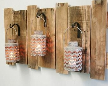 Reclaimed Pallet Wall Decorations | Pallet Ideas: Recycled Intended For Wall Accents With Pallets (View 15 of 15)