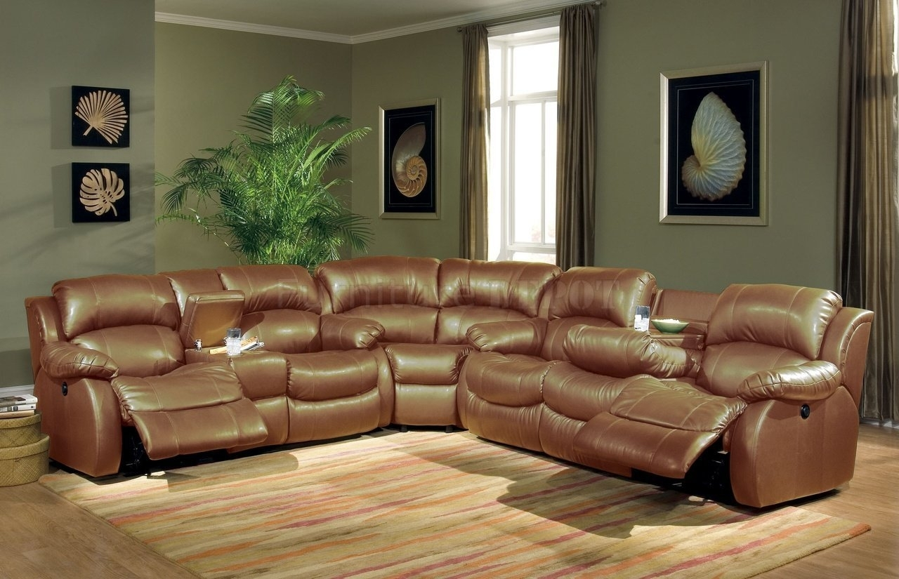 Recliner : Leather Sectional Sofas With Recliners And Chaise With Michigan Sectional Sofas (View 4 of 10)