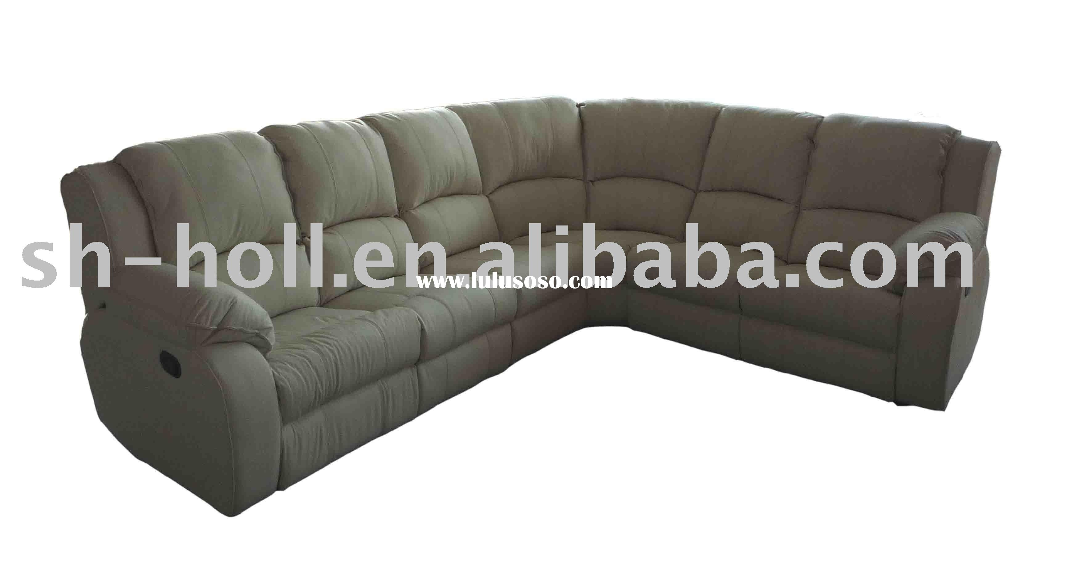 Reclining Sectionals Recliners – Living Rooms House Beautiful Throughout Jedd Fabric Reclining Sectional Sofas (View 8 of 10)
