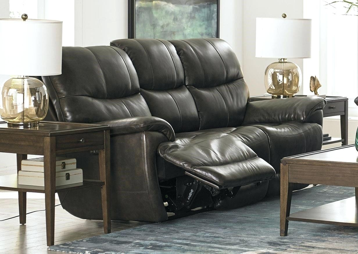Reclining Sofas Sofa Leather Brown Recliner For Sale In London Kijiji – In Kijiji London Sectional Sofas (View 4 of 10)