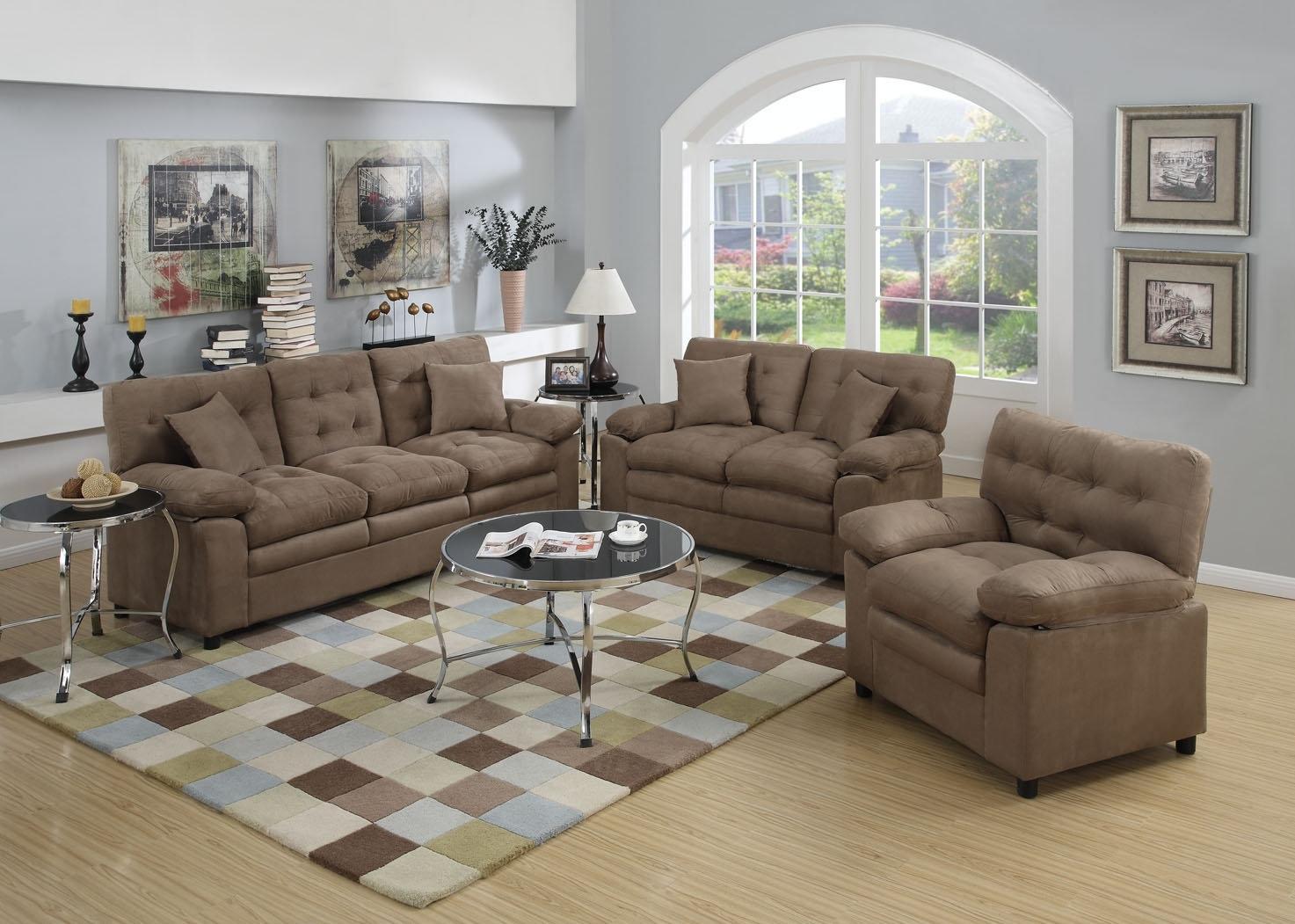 Red Barrel Studio Kingston 3 Piece Living Room Set | Wayfair Throughout Kingston Sectional Sofas (View 9 of 10)
