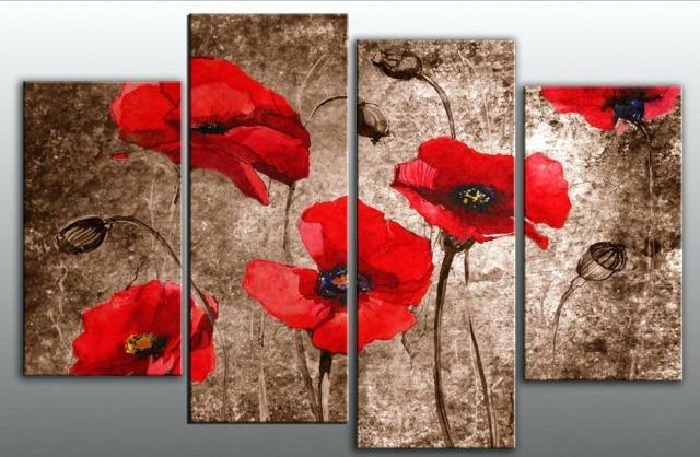 Red Canvas Wall Art Trademark Fine Art Serenade In Red Canvas Art Regarding Large Red Canvas Wall Art (View 5 of 15)