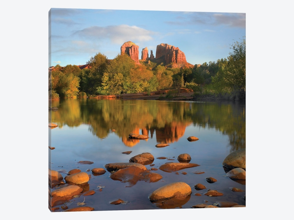 Red Rock Crossing, Arizona Canvas Wall Arttim Fitzharris | Icanvas Intended For Arizona Canvas Wall Art (View 11 of 15)