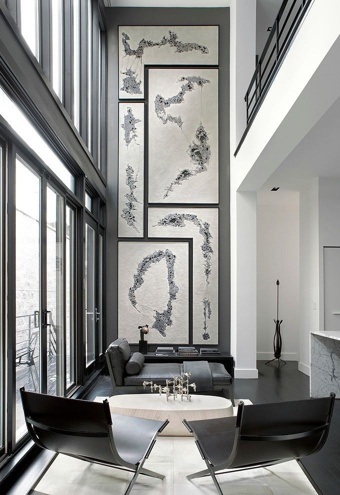 Remodelaholic   24 Ideas On How To Decorate Tall Walls With Wall Accents For Narrow Room (View 6 of 15)