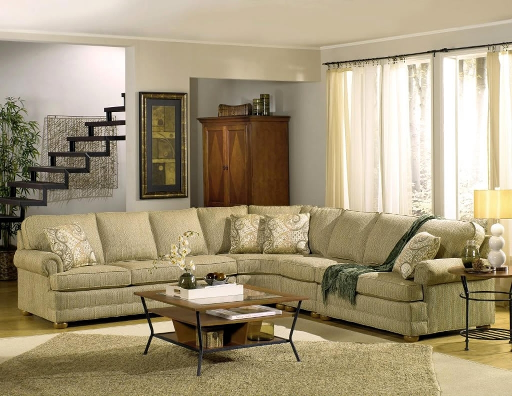 Residential Interior Design With Tailor Made Sectional Sofa With Regard To Made In North Carolina Sectional Sofas (Image 5 of 10)