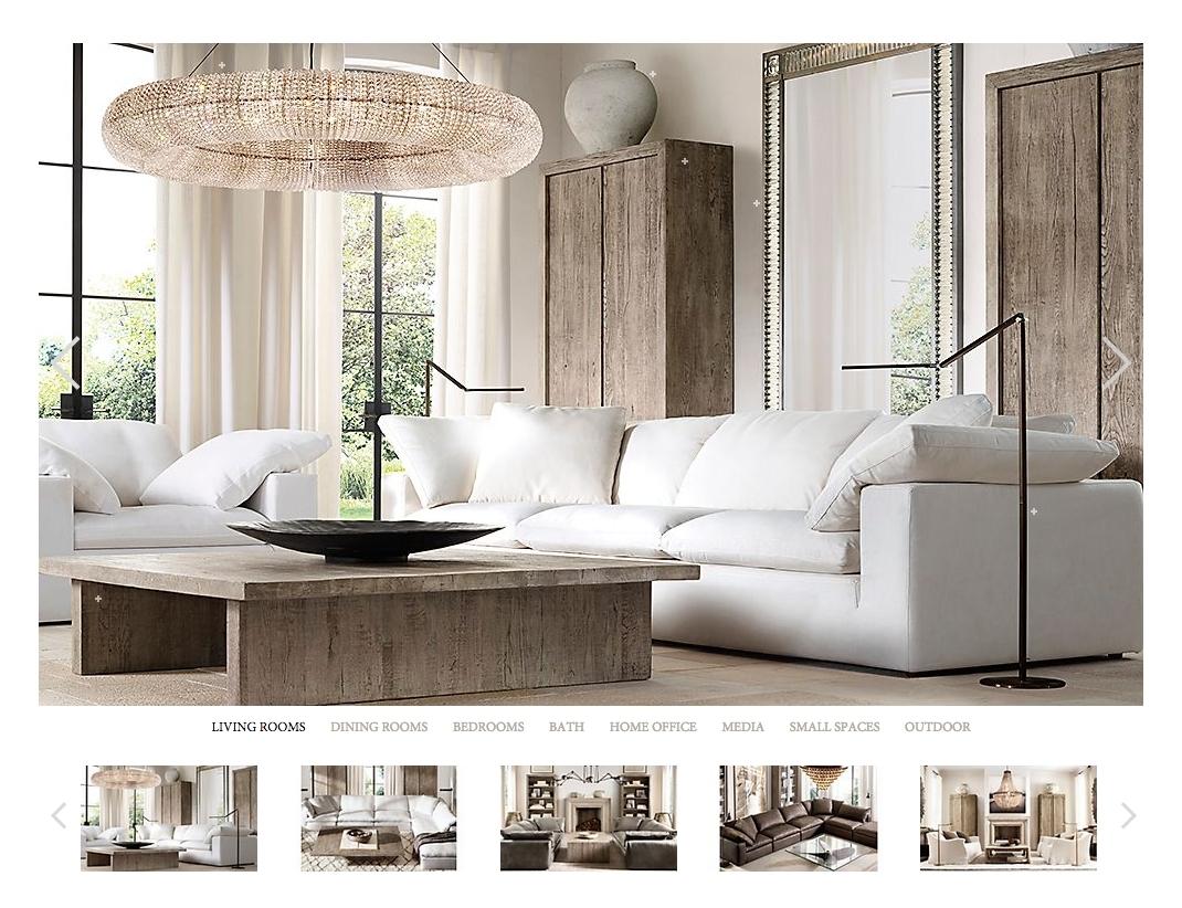 Restoration Hardware Belgian Linen Sofa Reviews | Www (View 2 of 10)