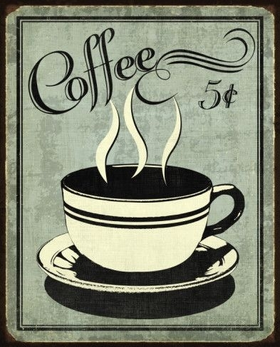 Retro Coffee I   Retro, Coffee And Coffee Time Within Framed Coffee Art Prints (Image 14 of 15)