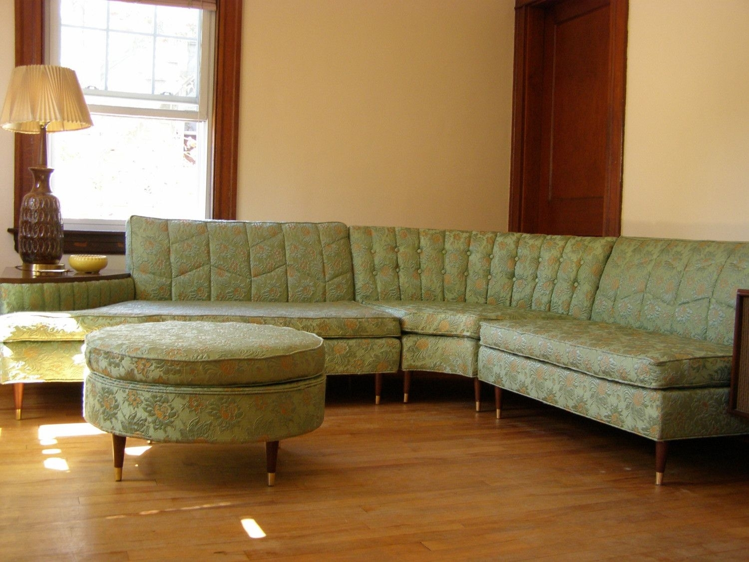 Retro Couches | New Years Sale Vintage Sectional Sofa With Built Throughout Vintage Sectional Sofas (Image 4 of 10)