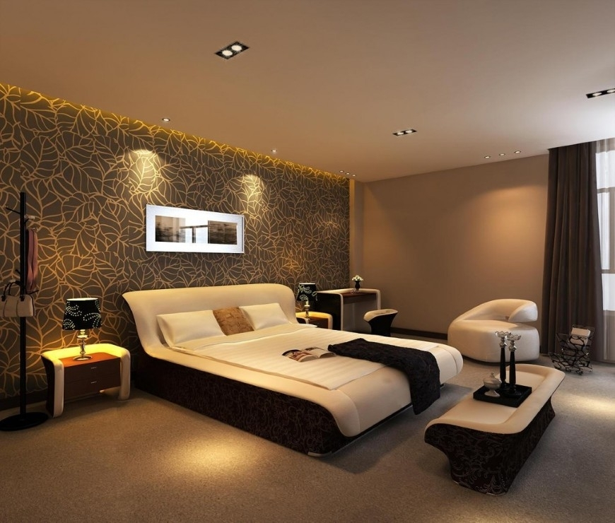 Rising Bedroom Outlook With Wallpaper Wall Accent Bedroom ~ Mgigo With Wallpaper Bedroom Wall Accents (View 9 of 15)