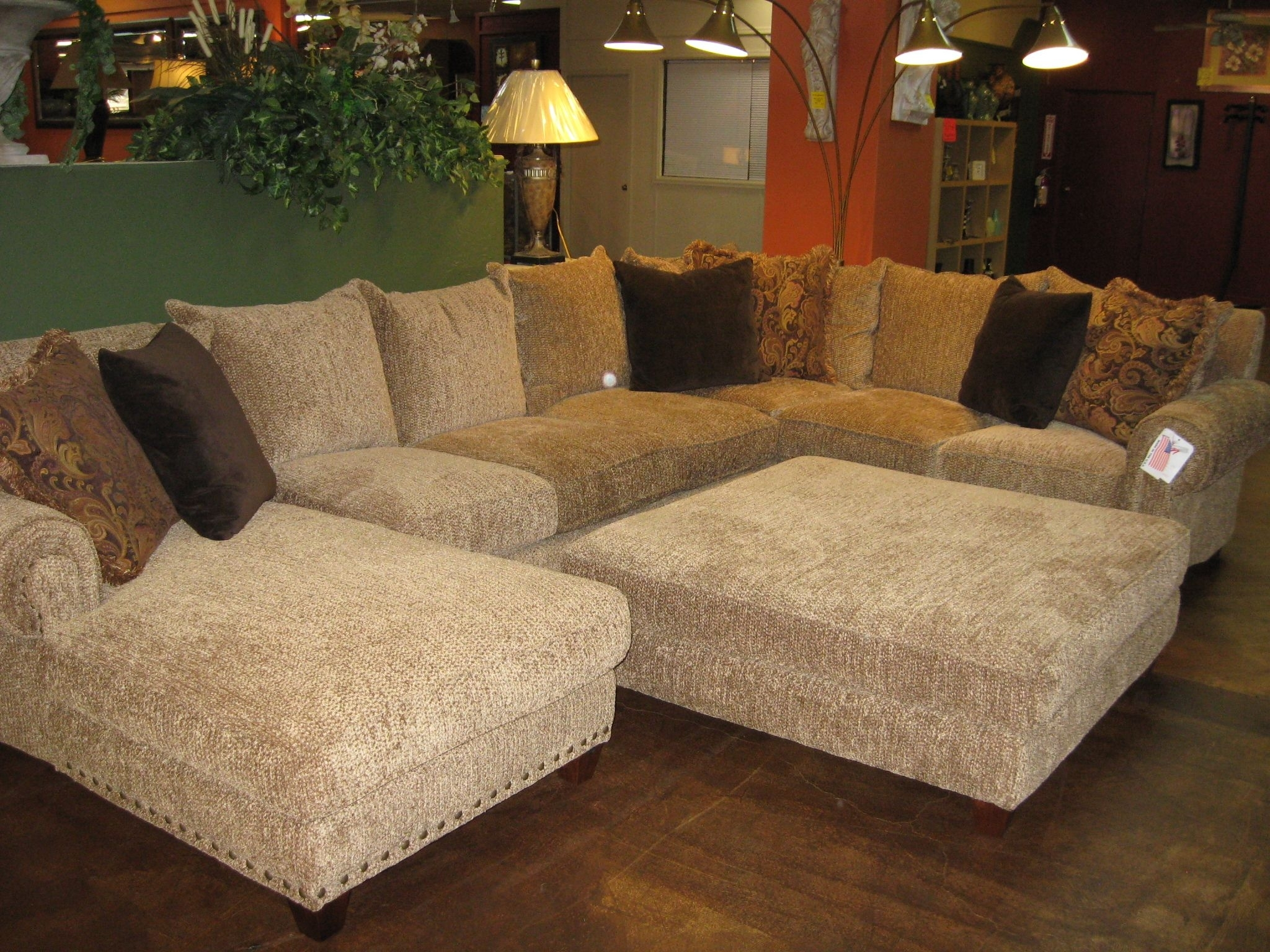 Robert Michael Rocky Mountain Sectional | Rocky Mountain In Mammoth In Sectionals With Oversized Ottoman (Image 5 of 10)