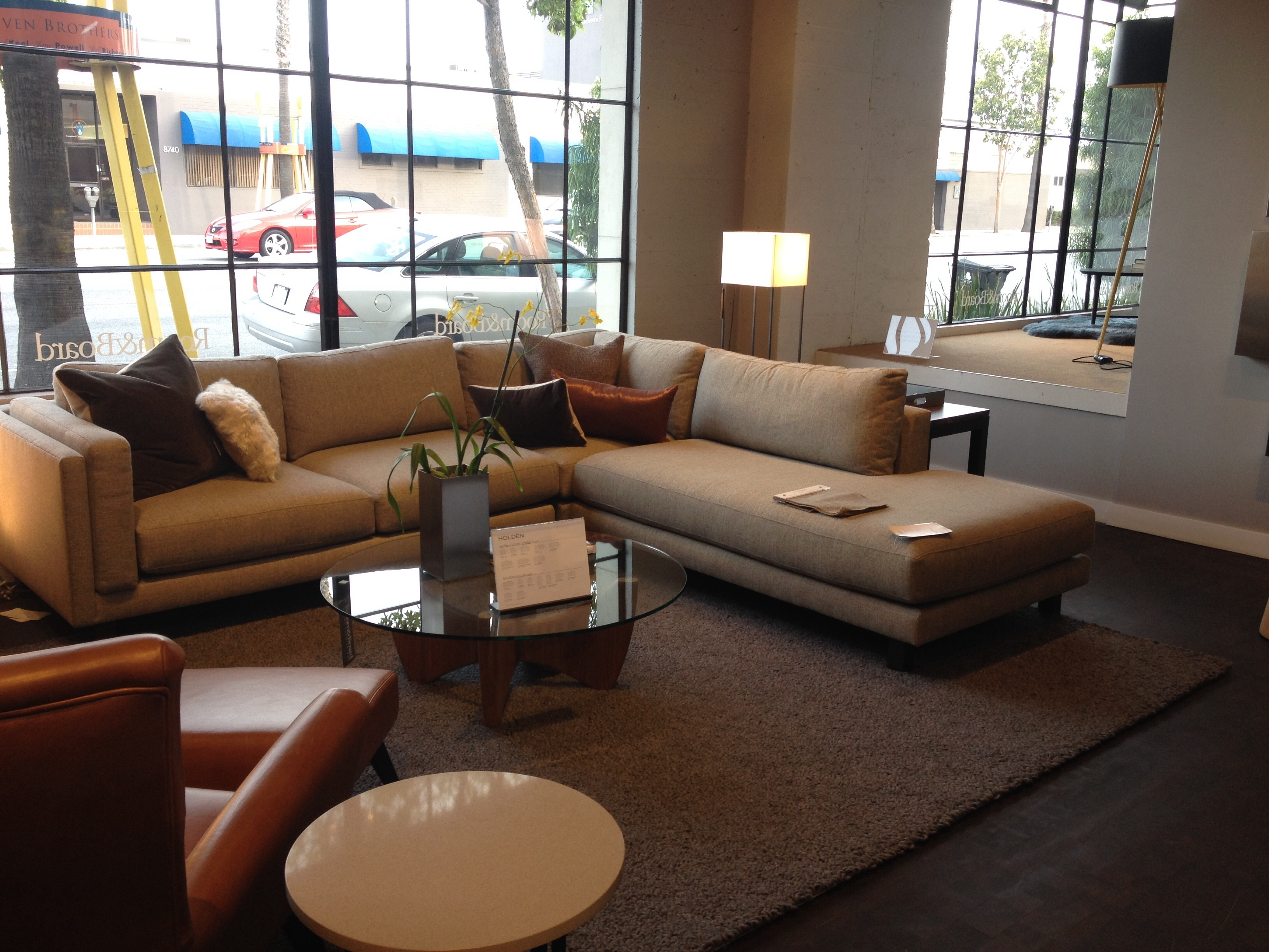 Room And Board – Holden Sectional. $3797. 112 X  (Image 6 of 10)