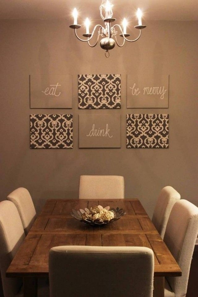 Room Wall Decor Ideas New Picture Pic Of Eecacdabab Dining Room In Dining Room Wall Accents (View 10 of 15)