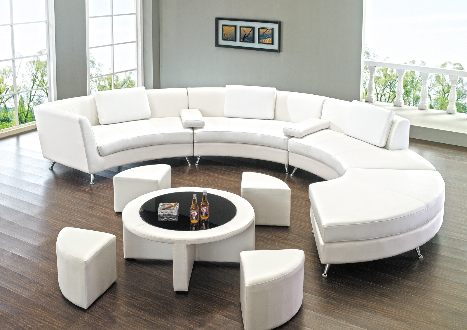 Round Sectional Sofa Has One Of The Best Kind Of Other Is Sectionals Throughout Rounded Sofas (Image 8 of 10)