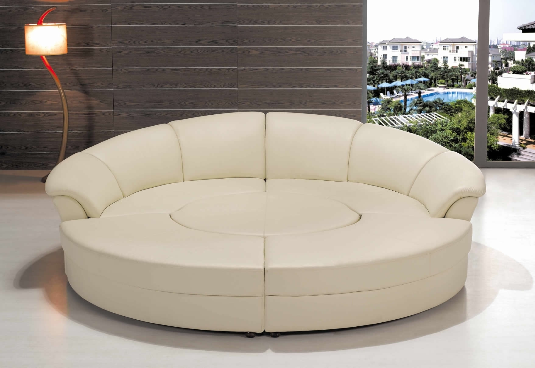 Featured Image Of Rounded Sofas