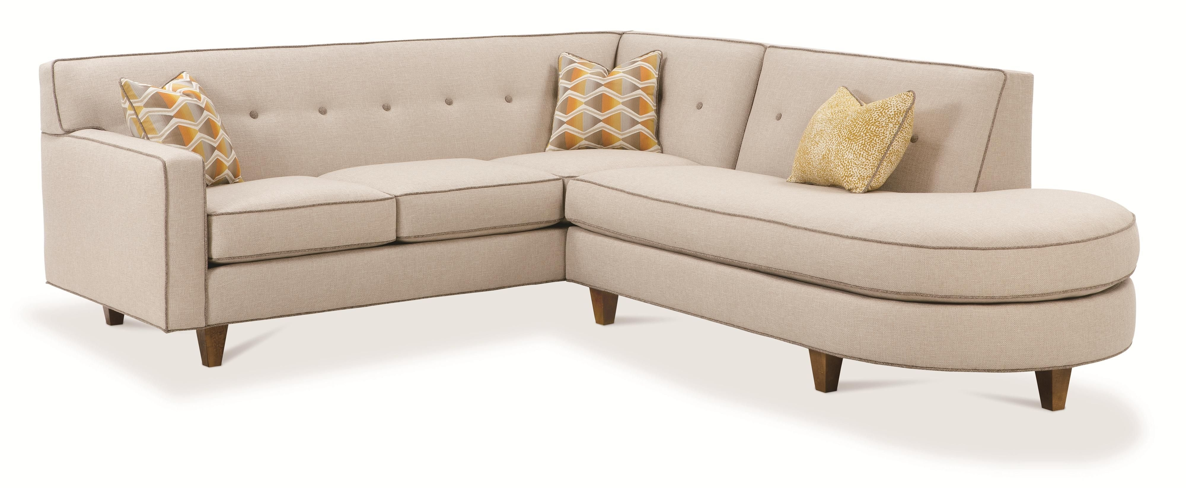 Rowe Dorset Contemporary 2 Piece Sectional Sofa | Baer's Furniture With Naples Fl Sectional Sofas (View 6 of 10)