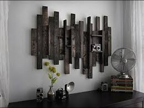 Rustic Wall Decor | Large Rustic Metal Wall Decor – Youtube Regarding Rustic Wall Accents (Image 14 of 15)