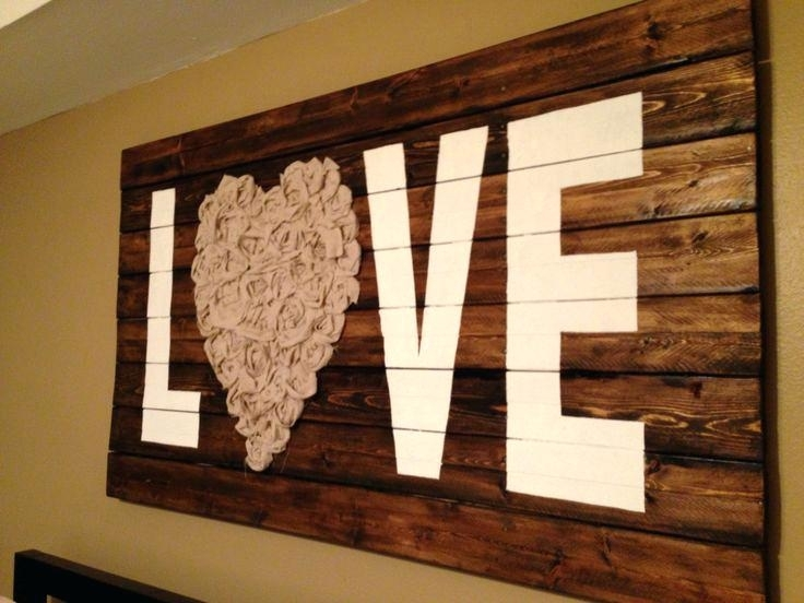 Rustic Wall Ideas Add With Rustic Wall Art Ideas Rustic Wall Shelf Throughout Rustic Fabric Wall Art (Image 12 of 15)