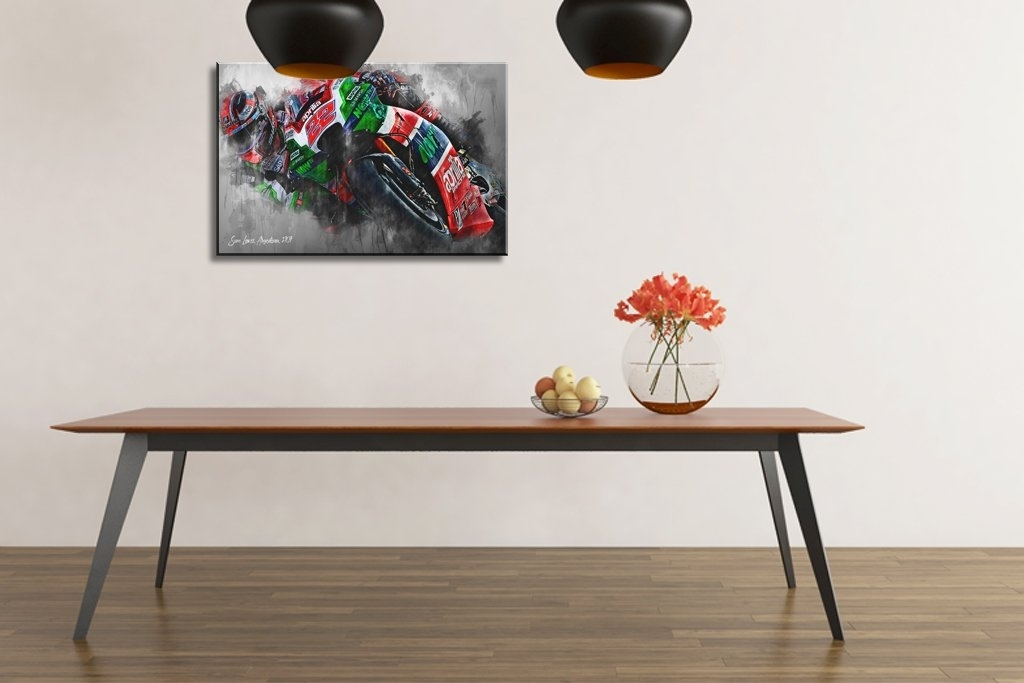 Sam Lowes | Canvas Wall Art Print | Moto Gp | Motorsport Art With Regard To Lowes Canvas Wall Art (View 2 of 15)