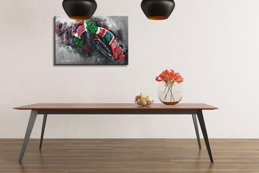 Sam Lowes | Canvas Wall Art Print | Moto Gp | Motorsport Art With Regard To Lowes Canvas Wall Art (Image 11 of 15)