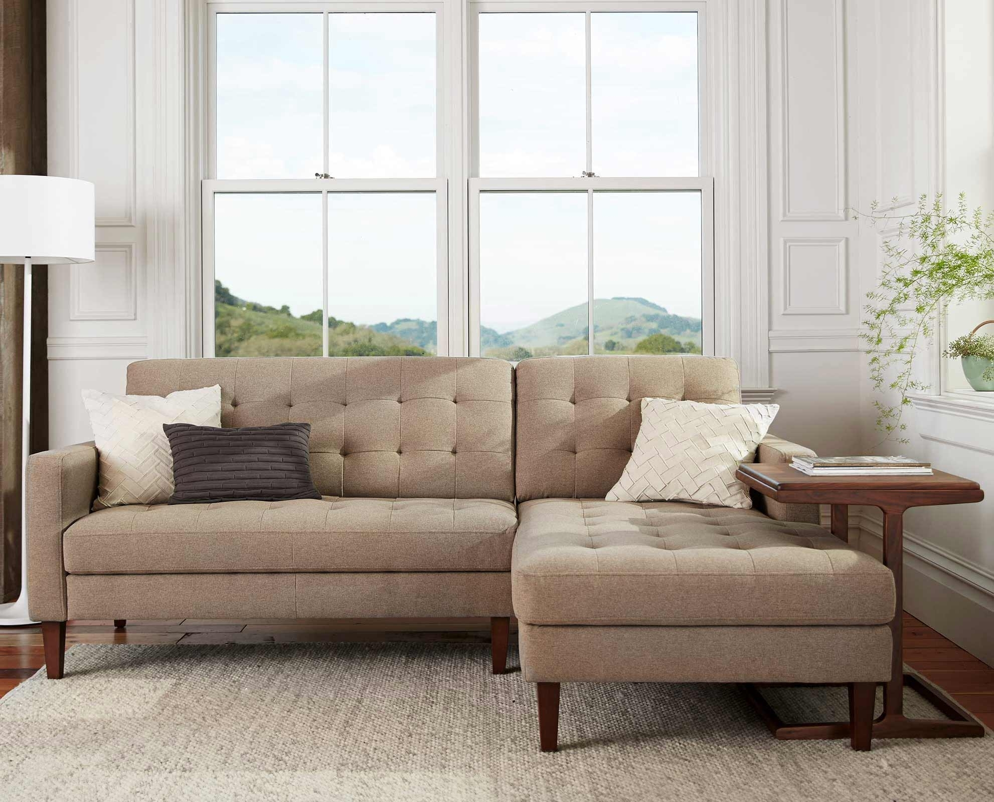 Scandinavian Designs – Create A Relaxing Aesthetic With The Camilla Inside Dania Sectional Sofas (View 4 of 10)