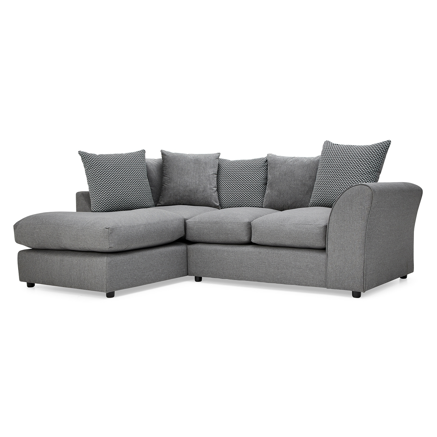 Seattle Fabric Corner Sofa – Next Day Delivery Seattle Fabric Corner In Fabric Corner Sofas (View 9 of 10)