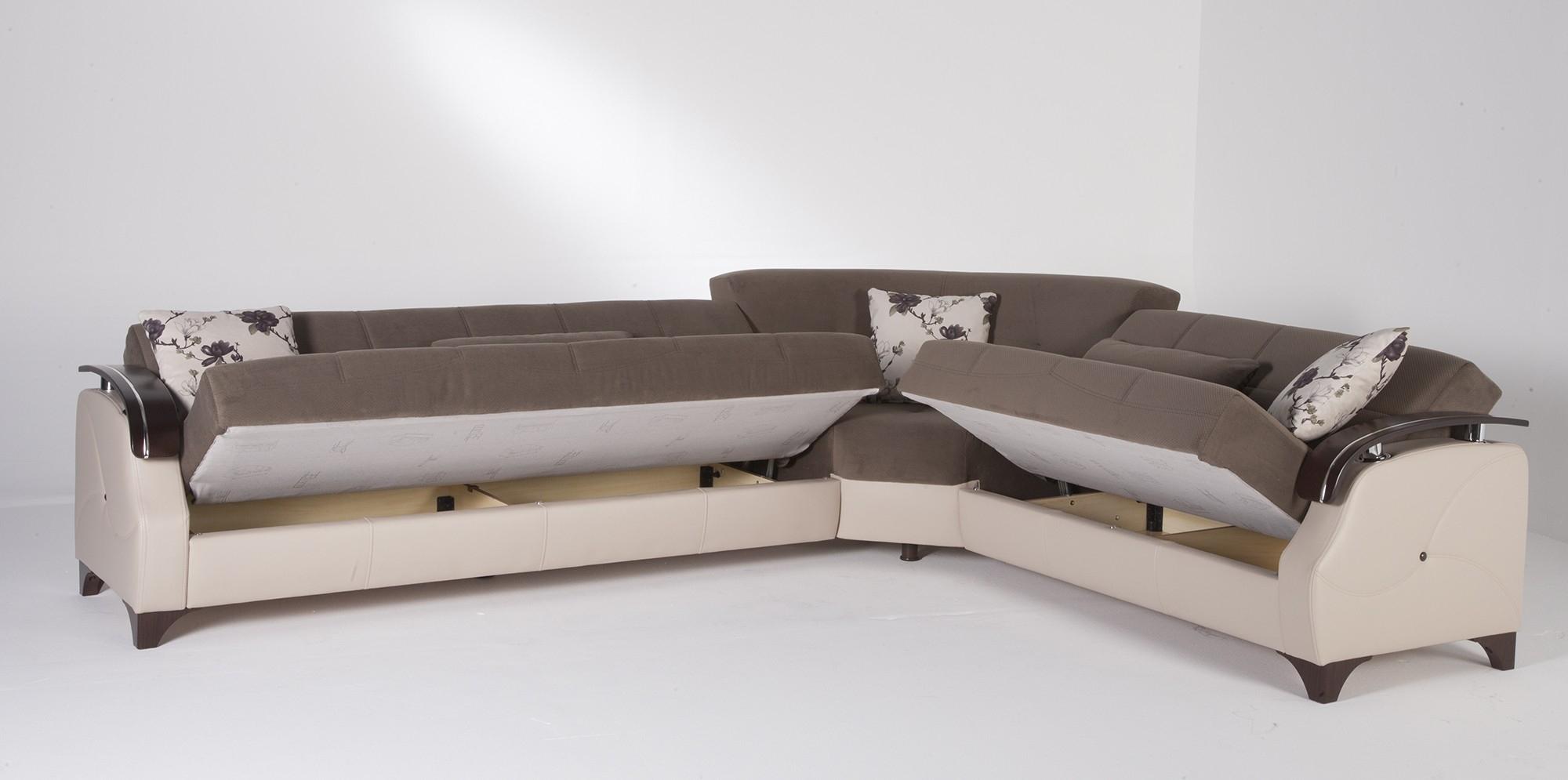 Sectional Sleeper Sofa With Storage And Sofa Sleeper Sectional With Inside Sectional Sofas With Storage (Image 6 of 10)